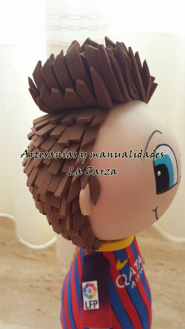 Artesanías y Manualidades La Zarza: Fofucho Piqué