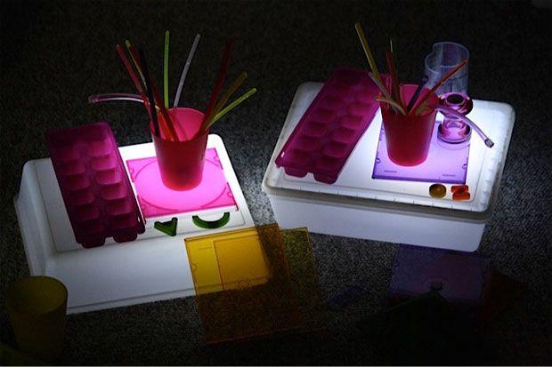 easy, inexpensive light box - happy hooligans & cbc parents