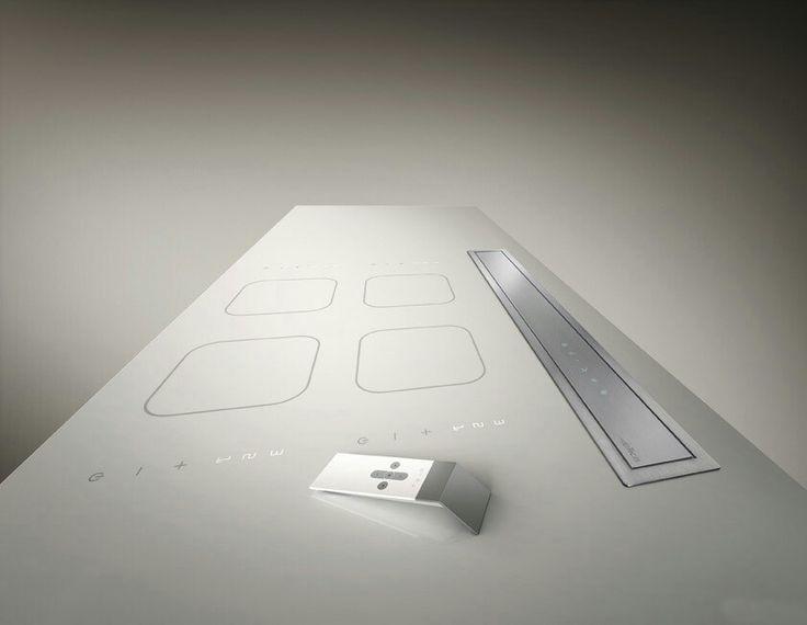 Adagio #Elica se esconde totalmente en tu mueble gracias a las guias telescópicas. http://www.alsako.com/campanas-extractoras-de-cocina/4285-campana-decorativa-integrada-a-mueble-encimera-vidrio-negro-y-acero-inox-pantalla-tactil-3vi-ilum-neon-elica-adagio-bl-f-90.html