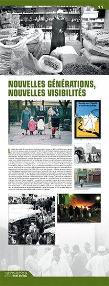 N°11 : Nouvelles générations, nouvelles visibilités. Le début des années 80 voit progresser les luttes contre le racisme. Le défi d'une Marche pour l'Egalité et contre le Racisme a atteint son objectif en 1983. Partie de Marseille, elle foule le pavé du Nord-Est où les soutiens se multiplient comme à Nancy ou Metz (en relais avec Strasbourg et l'Alsace). © Groupe de recherche Achac