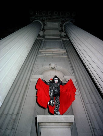 Gene Simmons, NYC 1979 — Lynn Goldsmith
