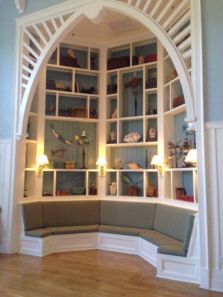 Reading nook-Disney Beach Club
