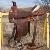 Ammerman Trophy Roping Saddle for sale in Miami-dade, Florida, United States of America :: HorseClicks
