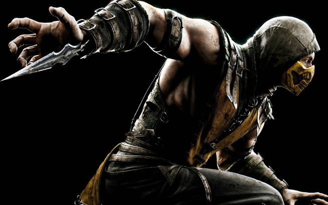 Get Over Here! Mortal Kombat X's Scorpion Figure Gets Bloody In This All-New Variant