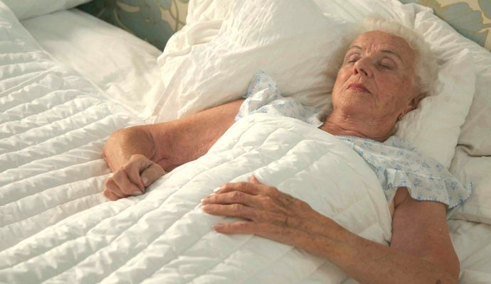 Weighted Blankets in Dementia Care Reduce Anxiety and Improve Sleep