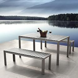 Element Bench Dining Set