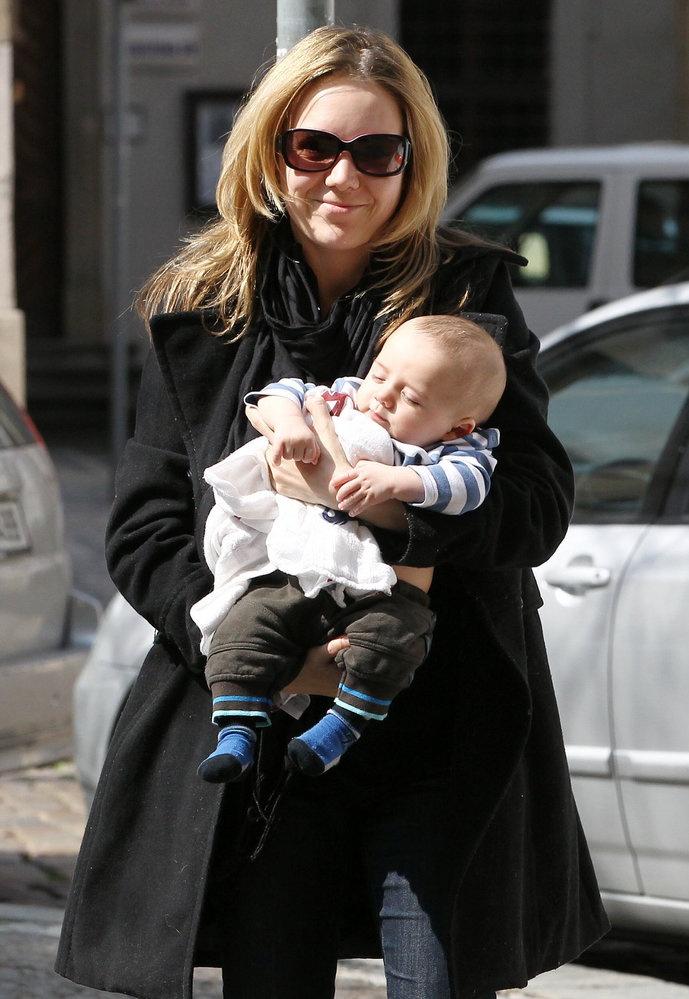 Lucie Vondrackova + Matyas born December 2011