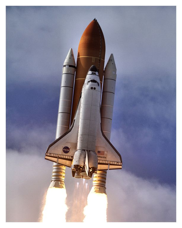 space shuttle follow path - photo #49