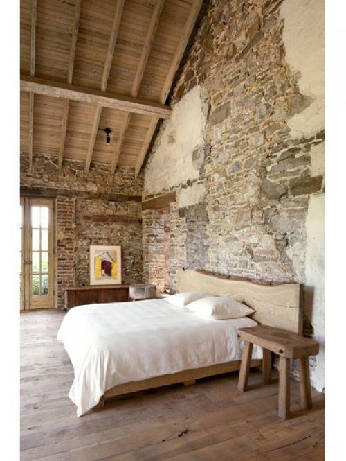 18 slaapkamers om bij weg te dromen: Landelijke slaapkamer | ELLE Decoration NL