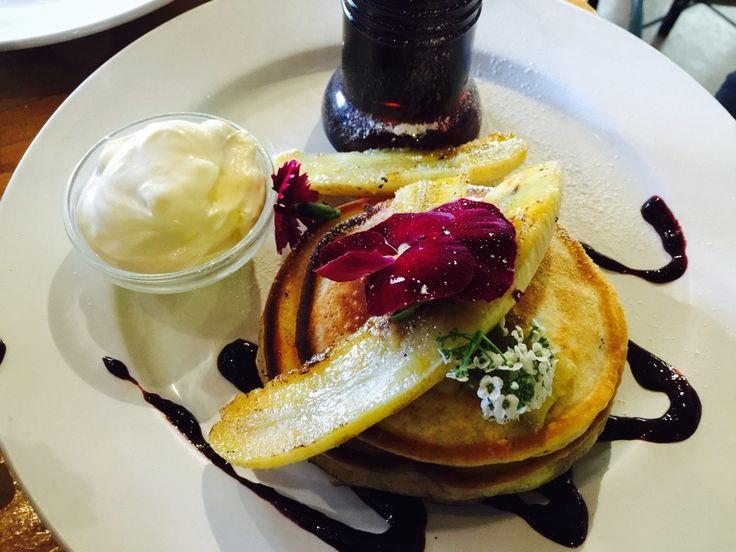 Gluten free Banana pancakes so delicious