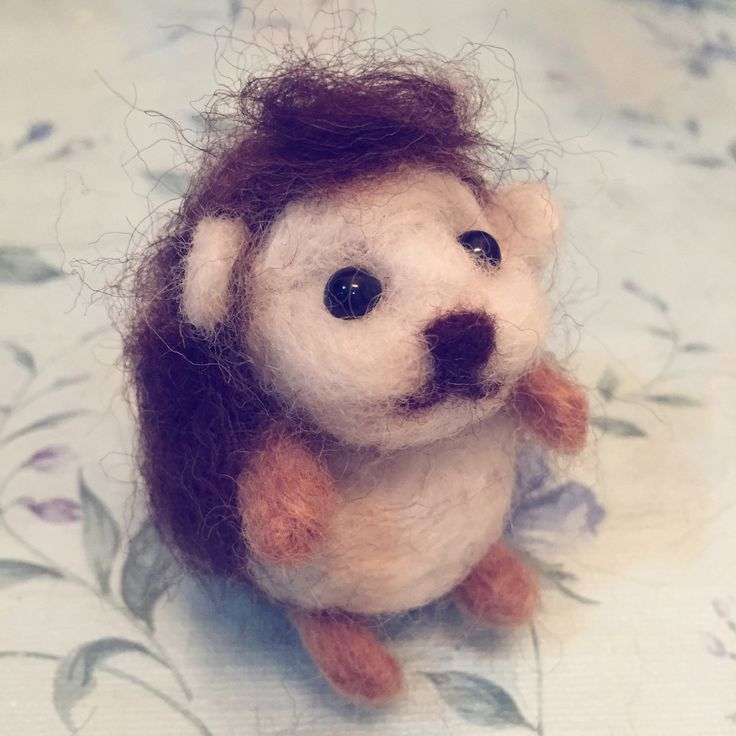 Felted Hedgehog is done!