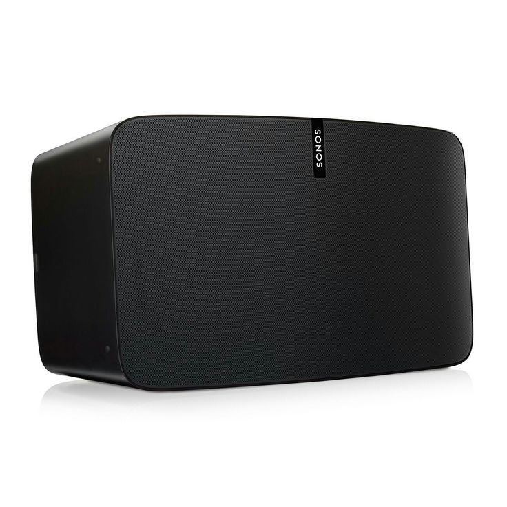 Sonos PLAY:5 Ultimate Wireless Smart Speaker for Streaming Music (Black) Sonos is the wireless Home Sound System that fills your entire home with great-sounding music. Use one app to stream different music to Sonos speakers in different rooms. Or send one song all through the house. Contents: PLAY:5, power cord, Ethernet cable, Quick Start Guide, and Legal/Warranty information.