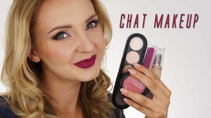 Chat makeup + pierwsze wrażenie: Makeup Atelier Paris, MAC, Sleek,  Stag...