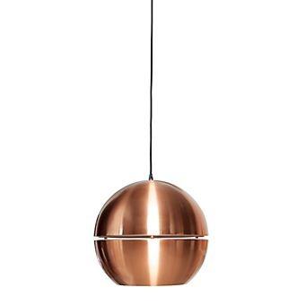 Koperen hanglamp van Zuiver