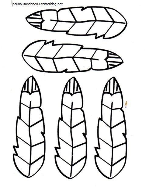 assistante maternelle toulon ouest nounou toulon   coiffe indienne rubrique : 6 contients : Amérique   petites plumes à imprimer puis à peindre