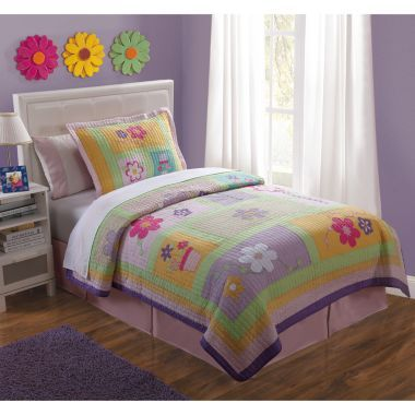 Sweet Helen Floral Twill Quilt Set found at @JCPenney