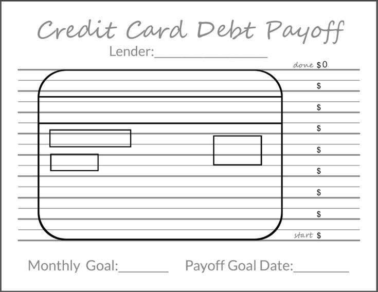 Tracking Your Debt Goals Credit Card Payoff Printable Calculate Your Credit Payof Credit Card Balance Credit Card Debt Payoff Balance Transfer Credit Cards