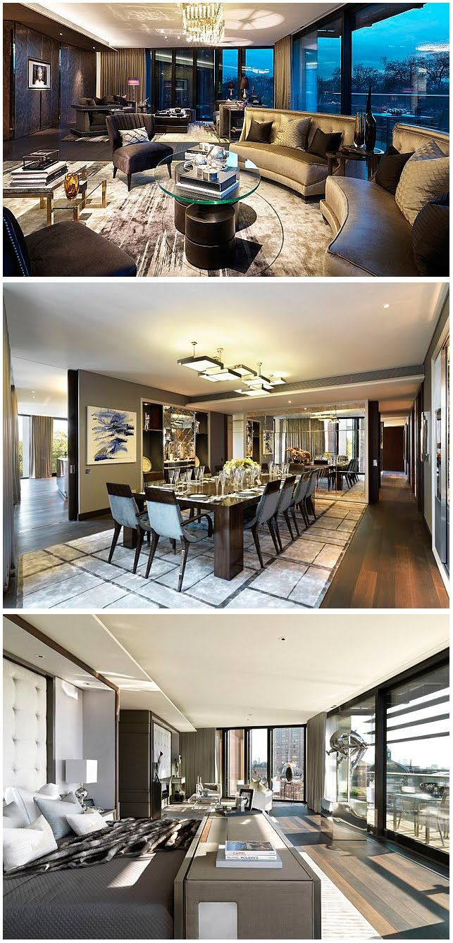 One Hyde Park $222,315,000 is world most expensive property and its in London 3 min from Harrods