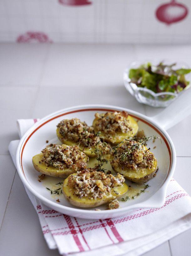 Unser beliebtes Rezept für Ofenkartoffeln mit Parmesan-Senf-Kruste und mehr als 55.000 weitere kostenlose Rezepte auf LECKER.de.