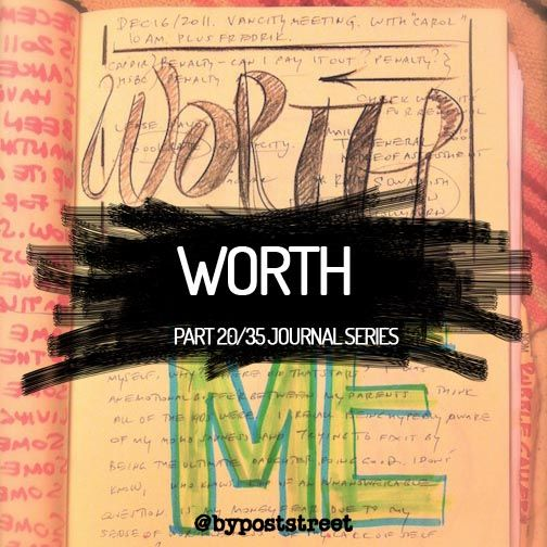Part 20/35 Journal Writing Series WORTH