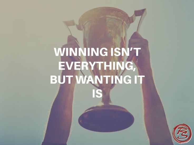 But just because you don't win them all doesn't mean you shouldn't try. Winning isn't everything, but wanting to win is. #RockSM #WinningIsEverything #Wanting #KeepTrying
