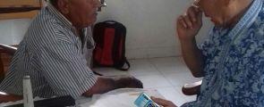 Dokter Monang Simarmata Lakukan Pemeriksaan Mata Gratis Kepada Masyarakat Lumbansuhi