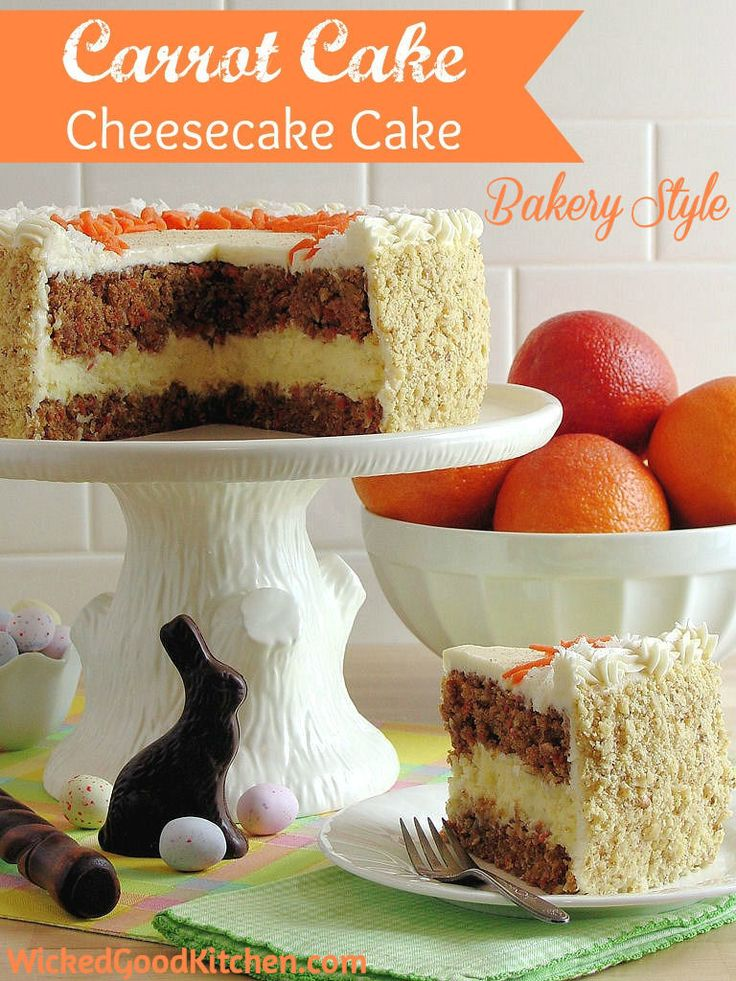 Amazing Carrot Cake Cheesecake Cake So Beautiful And Perfect For Easter Too