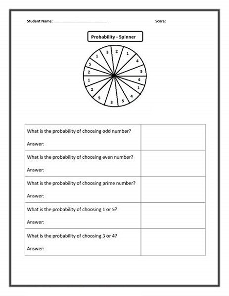 free fun math worksheets for 6th grade Printable Shelter