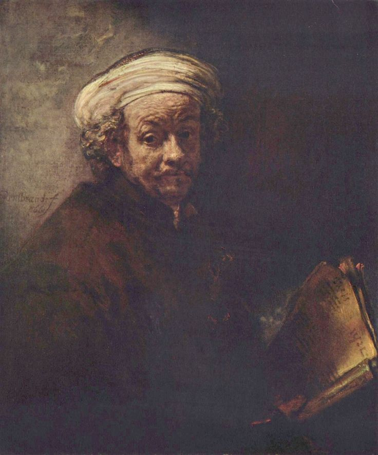 Rembrandt : 'Zelfportret als de apostel Paulus' (1661)
