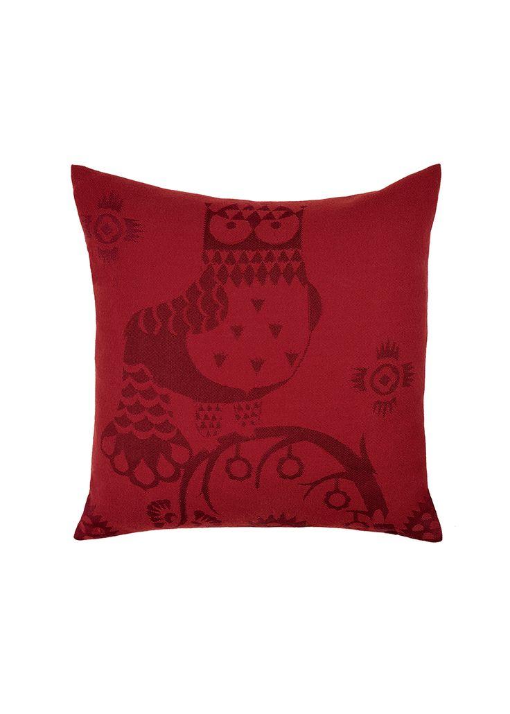 Taika Cushion cover 50x50 cm red Klaus Haapaniemi