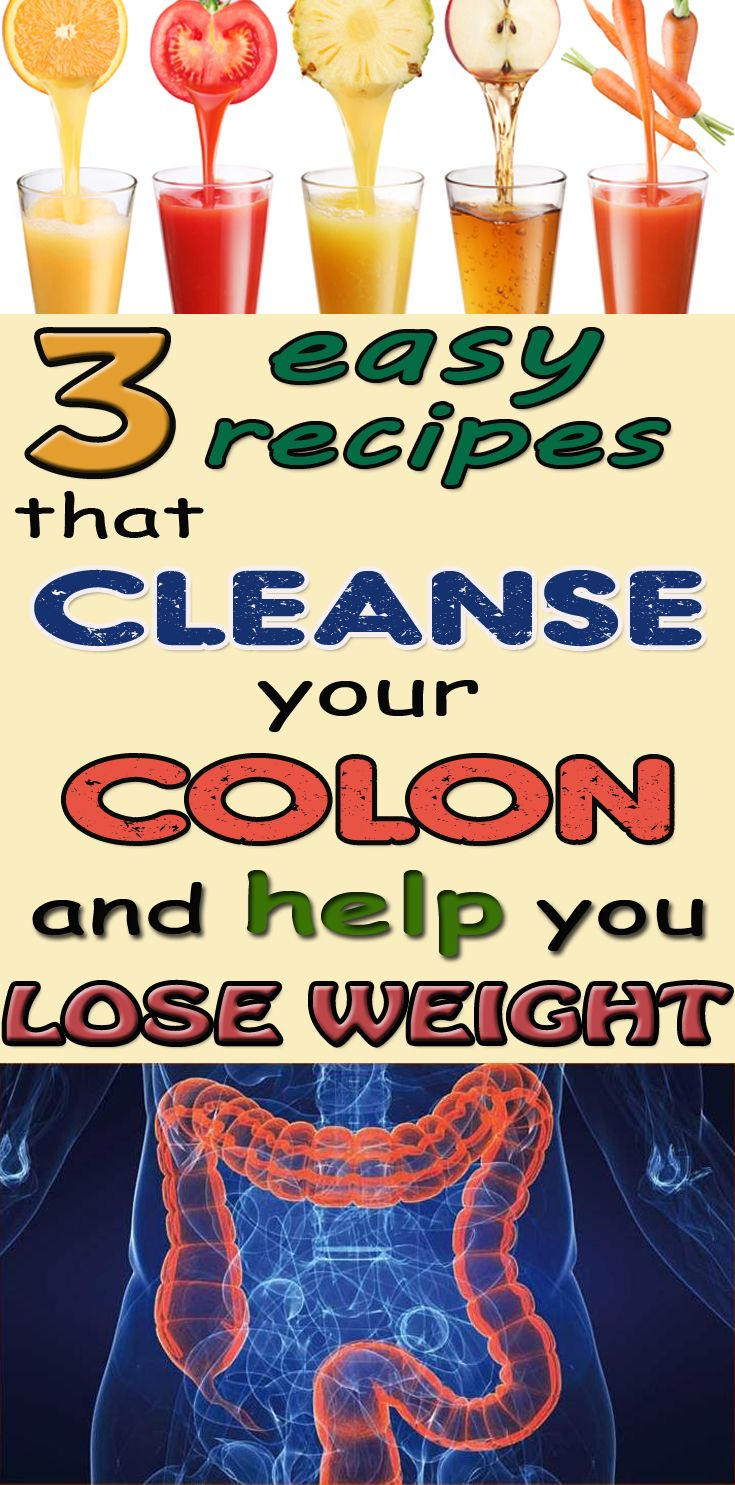 3 easy recipes that cleanse your colon and help you lose weight - BeautyHealther.com