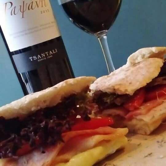 BLCT sandwich pairing voithia a glass coffee Rapsani Tsantalis  #tsantali #rapsani #cinque #winebarpsirri #winebar #psiri #athens #wines #winetasting #wine #winetime #timeforwine #winelover #lovewine #greekwine #greekgrapes #winegeeks #drinkgreekwine #instawine #winestagram #friends #instafood #drinks #foodporn #food #yamas #yummy #lovefood #supportgreekwine #travel