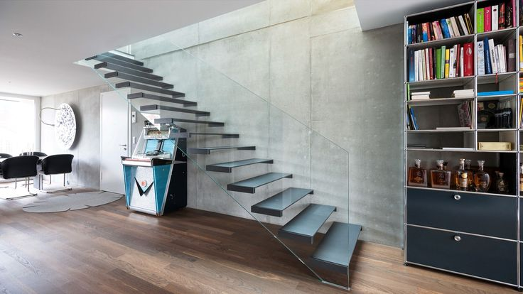 #Glaswangentreppe #Glastreppe #glass stair #structural glass stair
