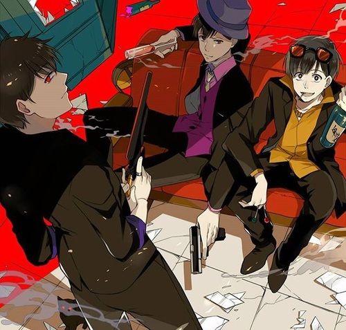 Osomatsu-san- Ichimatsu, Jyushimatsu, and Todomatsu #Anime「♡」Mafia