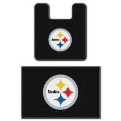High Quality Pittsburgh Steelers Two Piece Bath Rug Set   Perfect For The Downstairs  Bathroom.