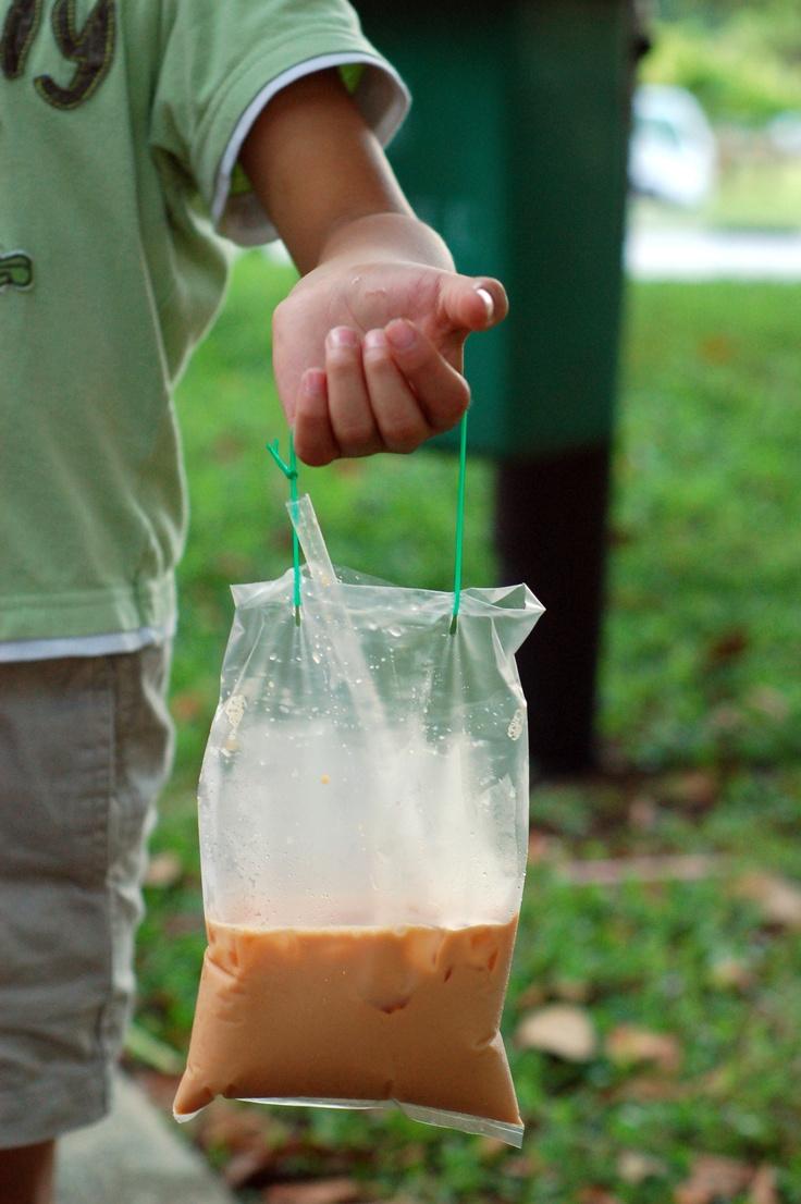 Take-away Iced Milk Tea
