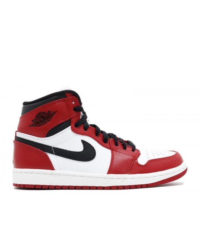 new product 1d0b1 d96ad Nehmen Billig Deal Air Jordan 1 555088184 Billig Weiß Hoch Schwarz Schuhe  Gym Rot - sommerprogramme.de
