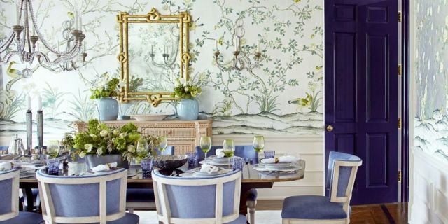 If Your Dining Room Has a Mirror, You Might Eat Healthier  - HouseBeautiful.com