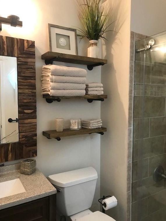 20 Top Bathroom Storage Ideas To Enhance Your Bathroom Quality In 2020 Badezimmer Design Schwimmendes Regal Badezimmer Diy