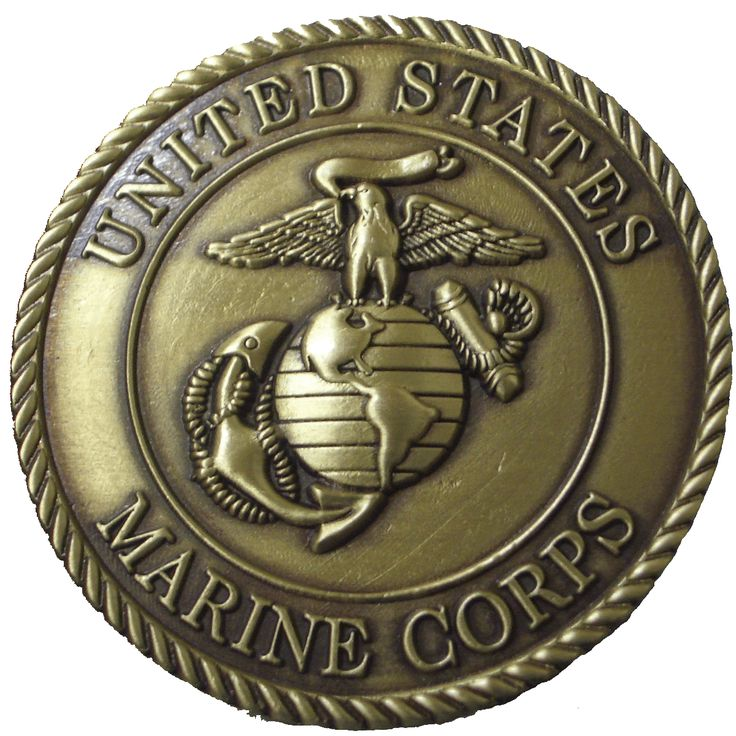 Official Bronze Marine Corps Seal Marine Corps Emblem