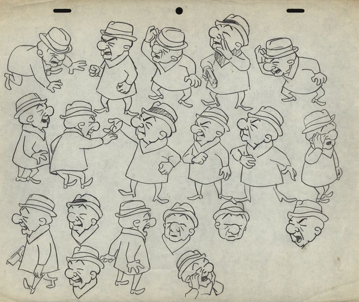 Character Design Upa : Mr magoo � upa united production of america