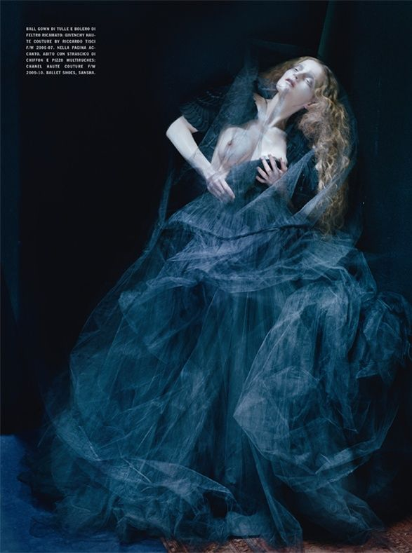 Dreaming of Another World   Guinevere van Seenus by Tim Walker for Vogue Italia March 2011