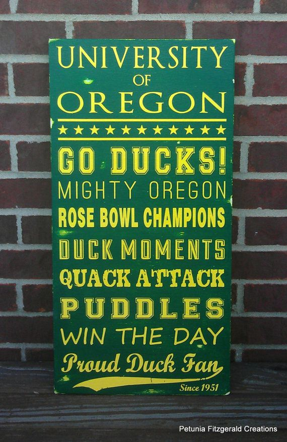 Hey, I found this really awesome Etsy listing at https://www.etsy.com/listing/170142238/university-of-oregon-painted-wood-sign