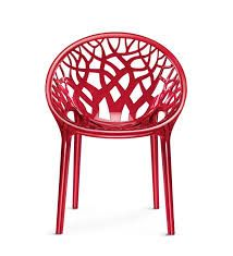 CRYSTAL PC NILKAMAL PREMIUM CHAIRS WHINE RED