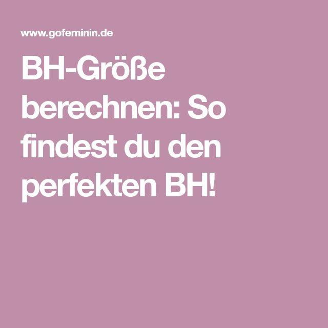 BH-Größe berechnen: So findest du den perfekten BH!