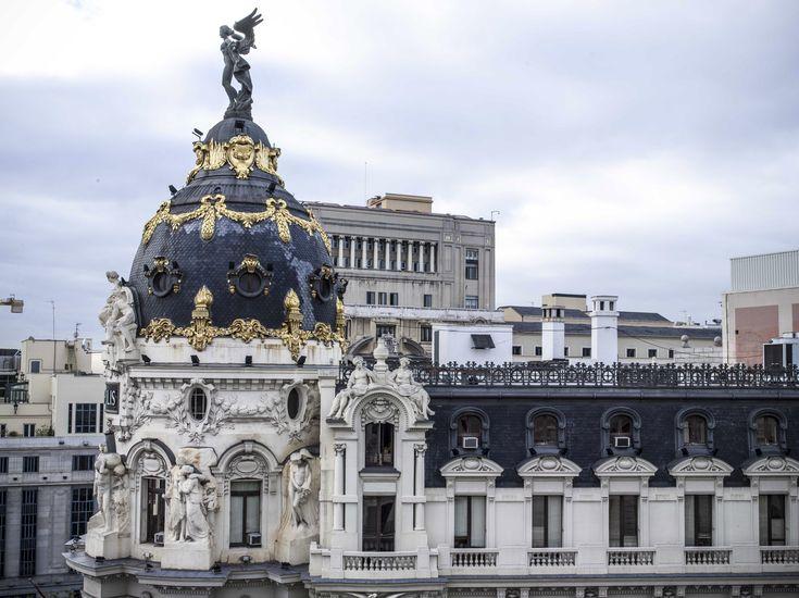 Gran Via Suite views | Hotel Rooms in Madrid | The Principal Madrid