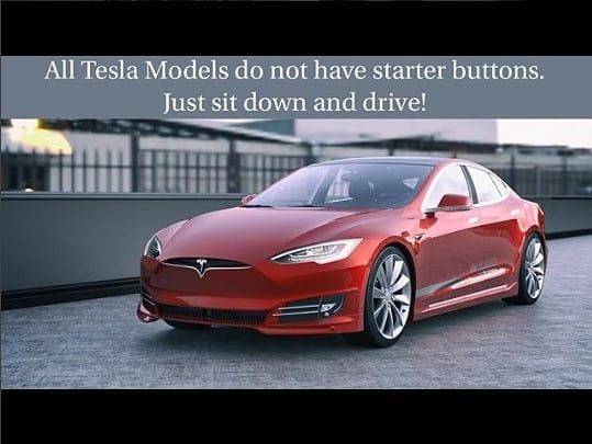 Tesla cars do not need to be turned on to drive them. Rather the driver has to simply get in sit down close the door and the car will automatically turn on and be ready to drive. Theres no push to start button!  TYPE YES  if you agree & TAG friends of yours who need to be inspired.  Follow  @powerglobalsolar for daily info on the going green  Follow  @powerglobalsolar for daily info on the going green  Credit: @teslafacts - The goal of this account is to help you learn more about how the…