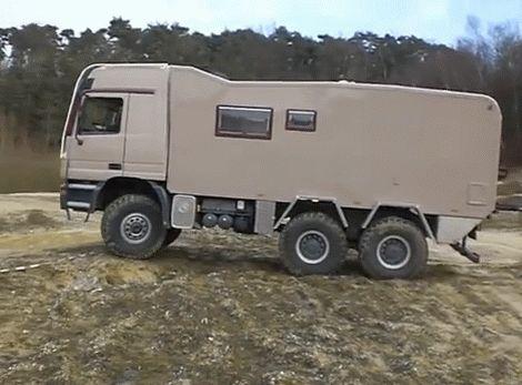 Mercedes Benz Zetros 6x6 Off Road Camper Price Autos Post