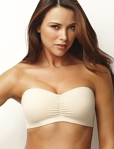 Lilyette® Microfiber Wirefree Strapless Bra from Maidenform ...