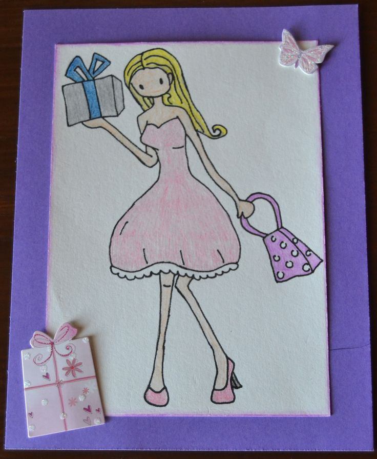Birthday card for women